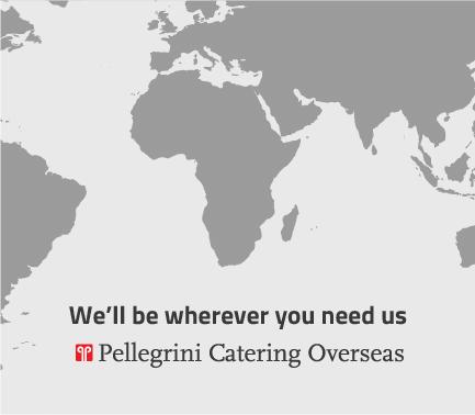 Cartina 1400.Pellegrini Catering Overseas